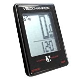 VeloChampion Ordinateur de velo sans fil 16 fonctions Cycle Computer