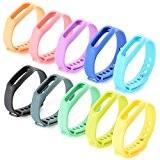 XCSOURCE® 10PCS Bracelet de rechange Xiaomi Mi Band Bracelet Traqueur d'Activité TH175