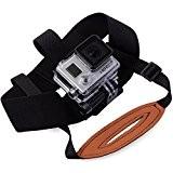 XCSOURCE® ceinture de fixation pour tête avec ceinture menton pour GoPro Hero 2 3 3+ 4 Vélo de Surf Ski ...