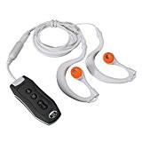 Y & M (TM) 8Go Lecteur MP3étanche, 100% IPX8lecteur mp3étanche avec radio FM pour Natation plongée Sport portable Noir