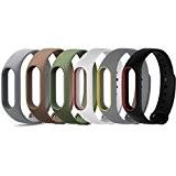 Yincol Smart Mi Band 2 Sangle de Remplacement + Protection écran, Poignet Bande Bracelet de Rechange pour Xiaomi Mi 2 ...