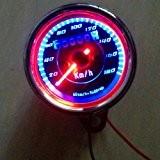 yosoo universelle double couleur LED Odomètre Compteur KM/H pour moto